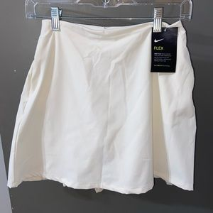 Light Cream Nike Tennis Skirt- size extra small